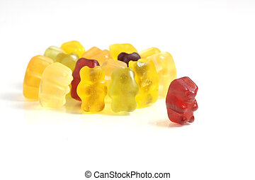 Dare to go out of the crowd - Gummy Bear Story Series: Dare...