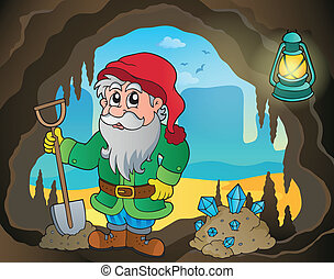 Mine theme image 6 - eps10 vector illustration