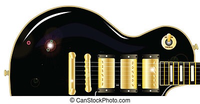 Guitar close Up - The definitive rock and roll guitar in...