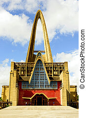 Basilica of Nuestra Senora de la Altagracia at Republica...