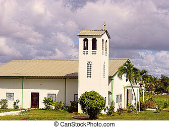 Countryside Church in Punta Cana Dominican Republic