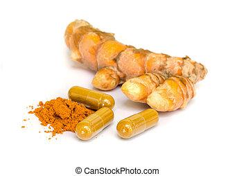 Tumeric and Tumeric capsule. - Tumeric is a Spice that...