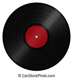 LP Vinyl Record - Classic retro/vintage music LP record disc...