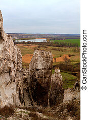 rocky outcrop - The rocky outcrop is located in the Upper...