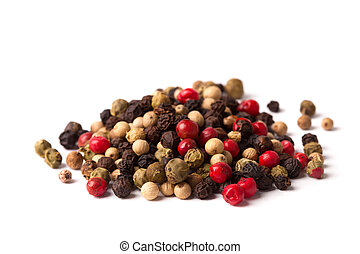 Peppercorn isolated