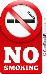 No Smoking Sign - No smoking sign, vector eps10 illustration