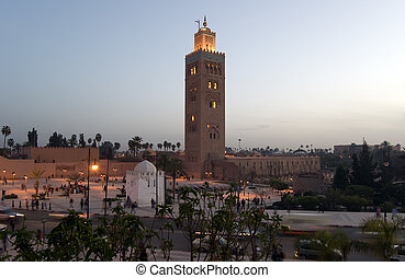 Marrakesh Koutoubia Minaret - The marvellous Koutoubia...