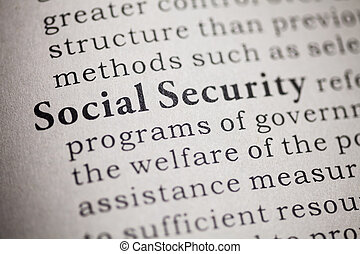social security - Fake Dictionary, Dictionary definition of...