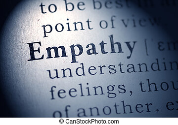 empathy - Fake Dictionary, Dictionary definition of empathy.