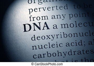 DNA - Fake Dictionary, Dictionary definition of DNA