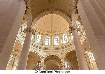 Xewkija, kościół, wewnętrzny