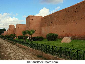 les, portes, Marrakech