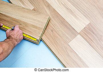 Floor installation - Home improvement, new floor...
