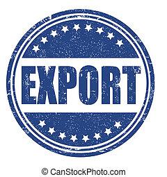 Export stamp