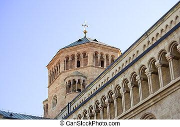 Detail of the Duomo of Trento