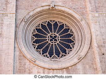 Rose window of the Duomo of Trento