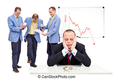Bankruptcy - A manager having just sent his employees notice...