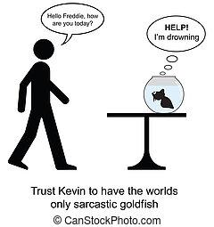 freddie, sarcasmo