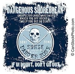 surf danger zone