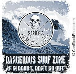 danger surf zone