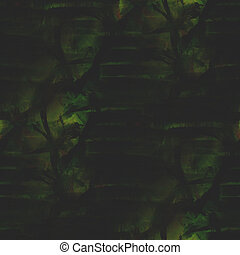 frame graphic green, black style palette seamless picture...