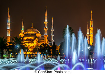 Sultan Ahmed Mosque Blue Mosque - Sultan Ahmed Mosque at...