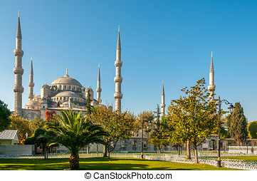 Sultan Ahmed Mosque (Blue Mosque) - Istanbul
