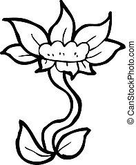 cartoon flower