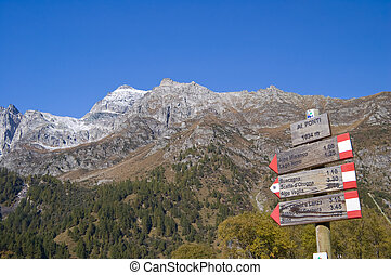 Alpe Devero alpine landscape - Alpe Devero natural park in...