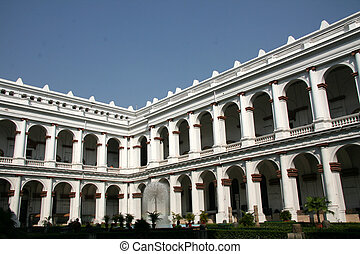 Indian Museum, Kolkata, India - Indian Museum, a popular...