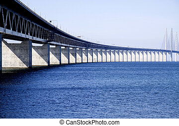 Bridge to Sweden - The long and beautiful bridge between...