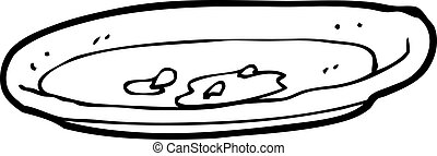 Crumbs Empty Plate Stock Images - Download 700 Royalty Free Photos |Empty Plate With Crumbs Clipart