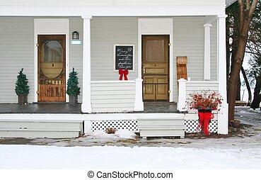 Holiday season decorations - Colorful holiday season...