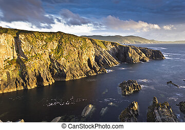 Cliffs near Allihies Co Cork - Cliffs near Allihies County...