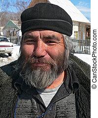 Portrait of Man with Beard 4 - A portrait close up men, the...