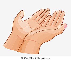 gentle hands clipart - photo #34