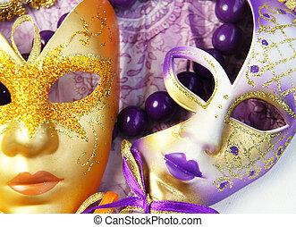Beautiful Venetian carnival masks - Venetian carnival masks,...