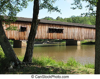Watson Mill Bridge State Park in Georgia.