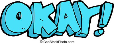 cartoon okay sign
