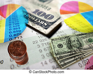 Stock Market Graphs and Money