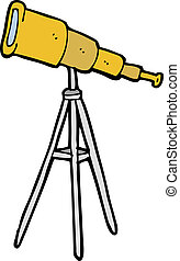 cartoon telescope
