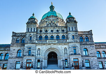 Provincial Capital Legislative Parliament Buildiing Victoria...