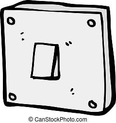 cartoon light switch
