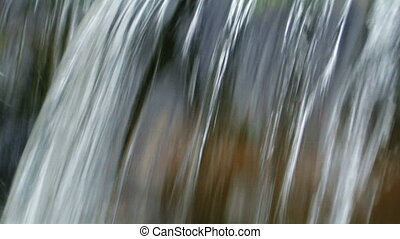 Background of flowing water