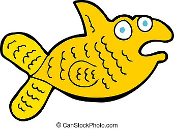 cartoon fish
