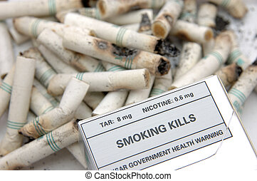 Government warning: Smoking Kills - Government warning...