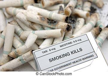 Government warning: Smoking Kills - Government warning...