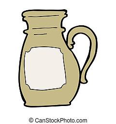 cartoon jug