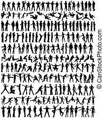 People - Over 200 detailed editable vector people...