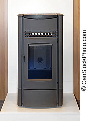 Wood stove - Wood burning stove for home heating